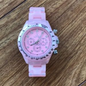 Pink Toy watch